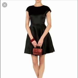 Ted Baker Women's Black Haydaa Full Skirt Dress